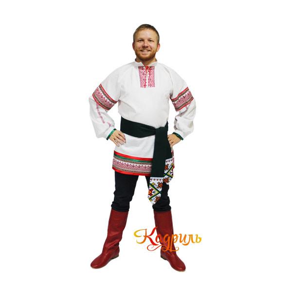 Молдавский костюм мужской. Рис. 1
