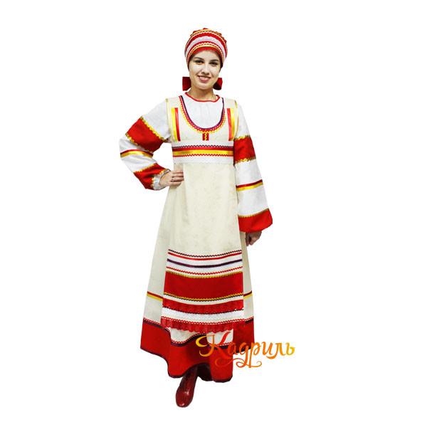 Народный костюм хоровой. Рис. 1