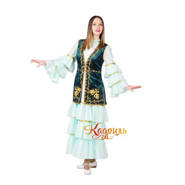 Костюм казахский женский. Рис. 1