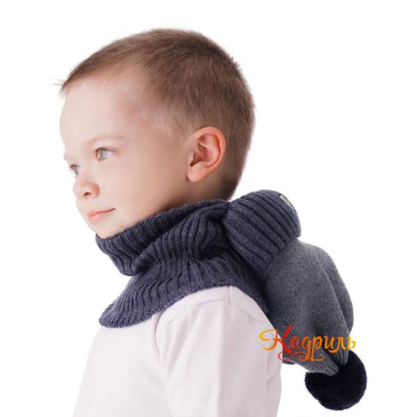 Шапка для мальчика зимняя. Рис. 2