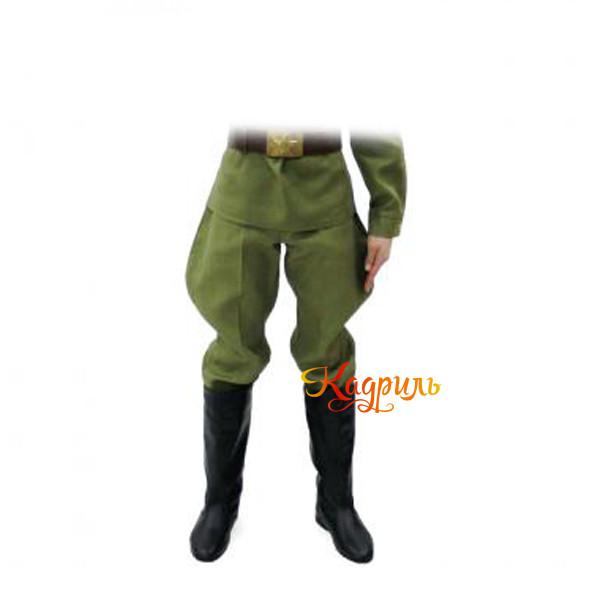 Галифе военное на мальчика. Рис. 1