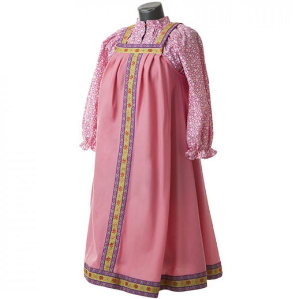 Платье в народном стиле. Рис. 3