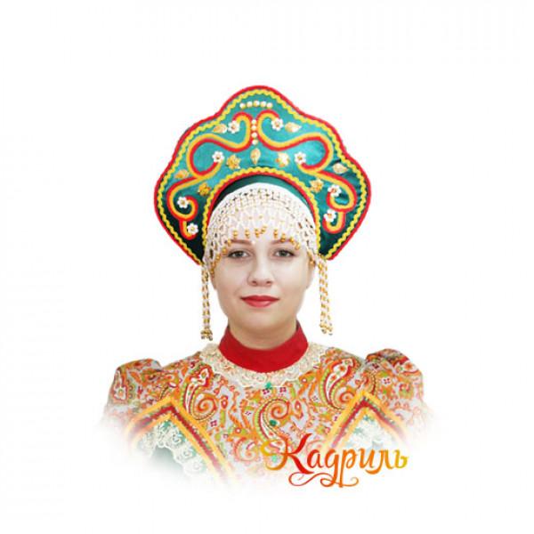 Кокошник Мария. Рис. 1