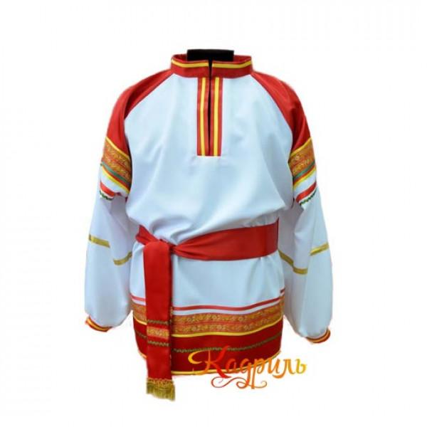 Рубаха в народном стиле. Рис. 1