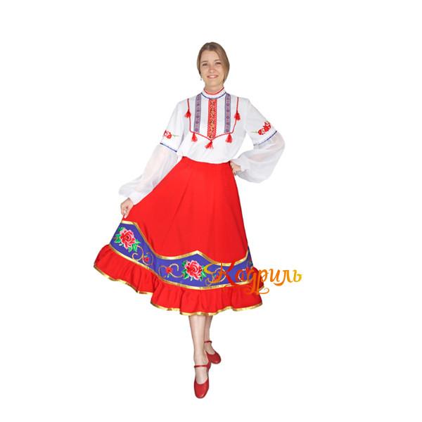 Казачий танцевальный костюм. Рис. 2