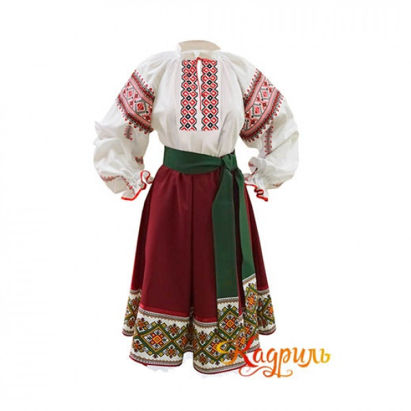 Молдавский костюм. Рис. 1