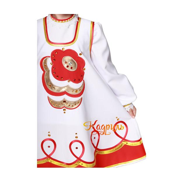 Народный сарафан детский. Рис. 4