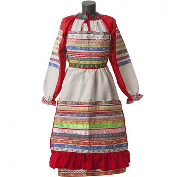 Русский народный костюм. Рис. 1