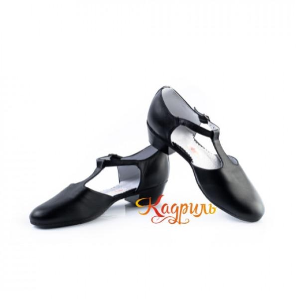 Туфли тренерские черные. Рис. 3