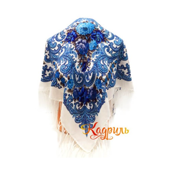 Фото Синие платки