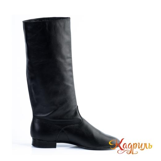 Фото Народная обувь черная