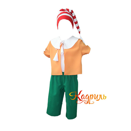 Фото Народный костюм в детском саду