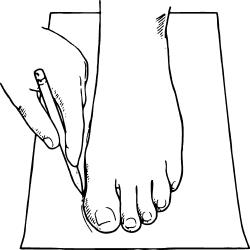Размеры обуви 1